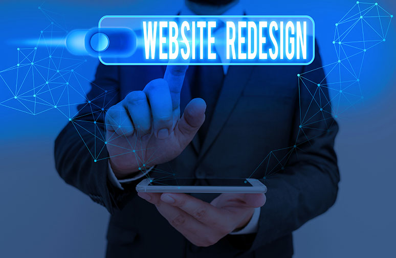 Completely Redesigning Your Website