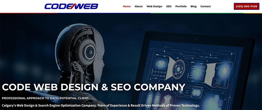 Code Web Design & SEO