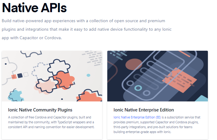 Native APIs