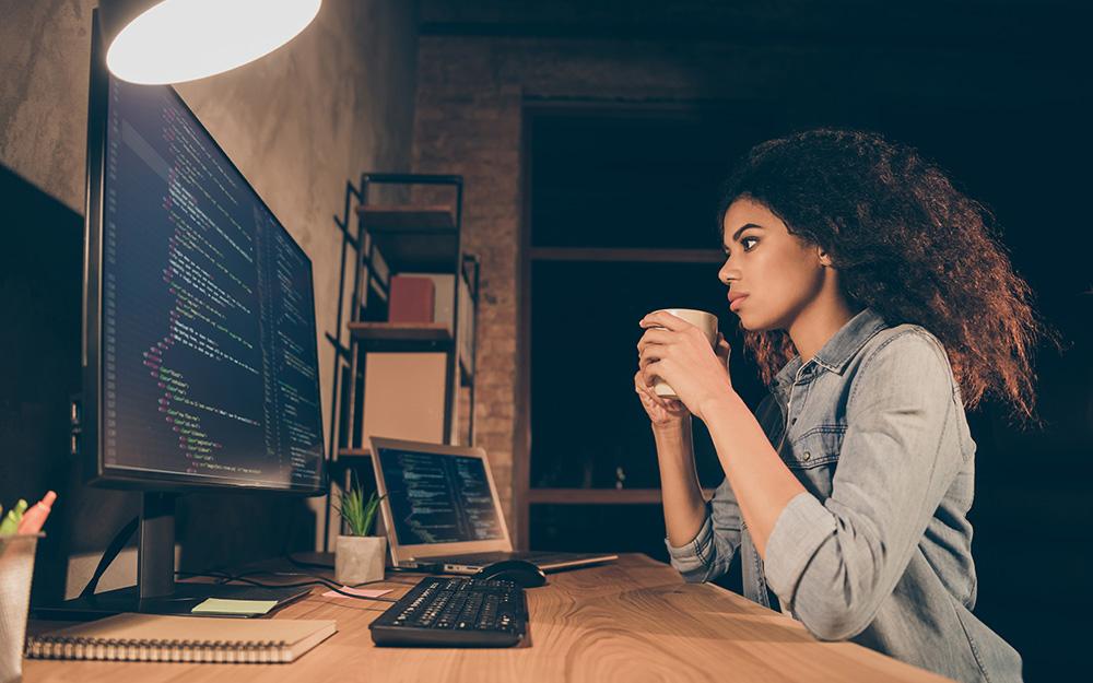 Woman Verifying Technical Seo Checklist