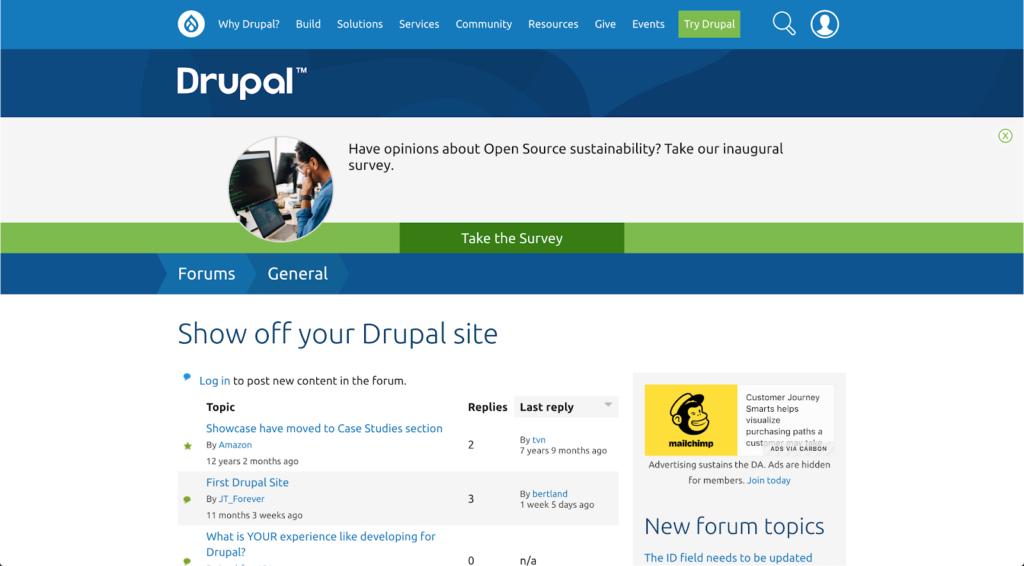 Drupal Forums
