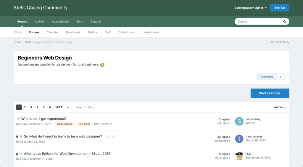 Stef's Coding Community