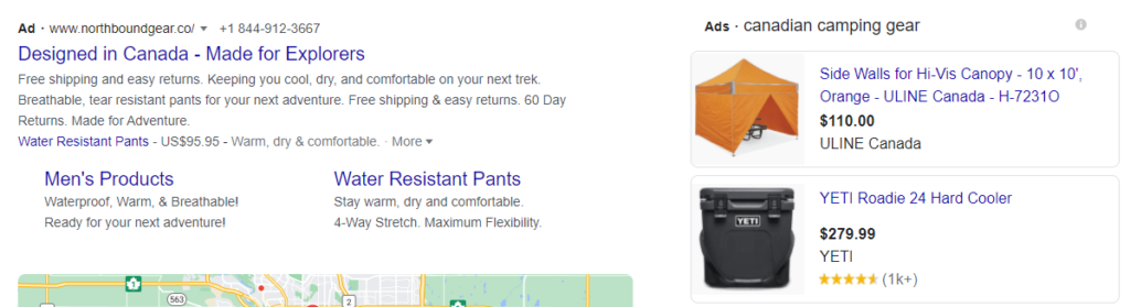 Canadian Camping Gear Search Results